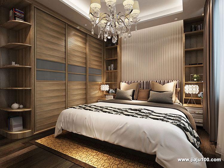卧房整体衣柜定制