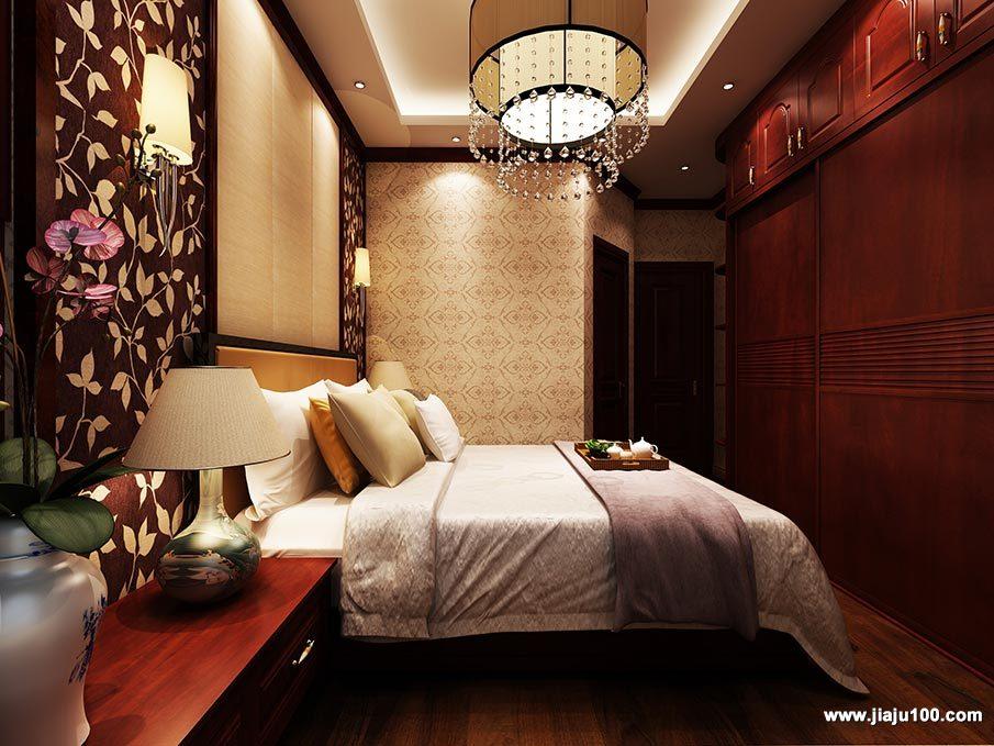 中式风卧室设计