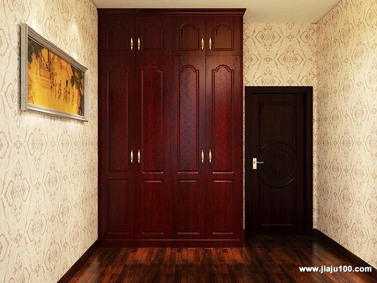 卧室中式衣柜定制