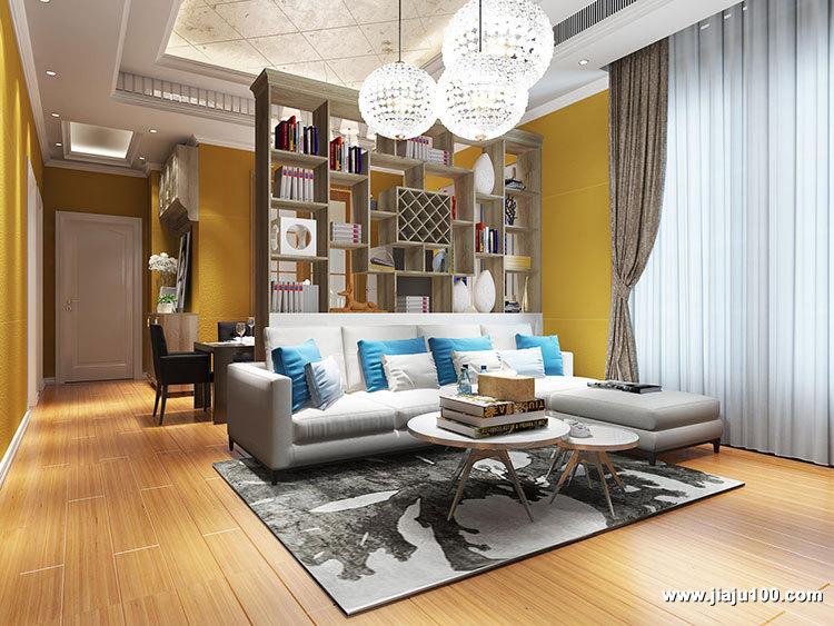 客厅沙发茶几组合图