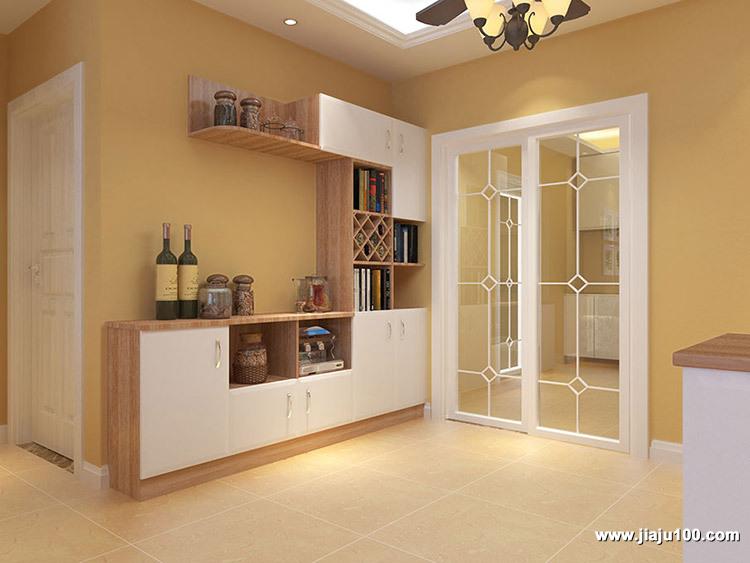 客厅家具储物柜设计