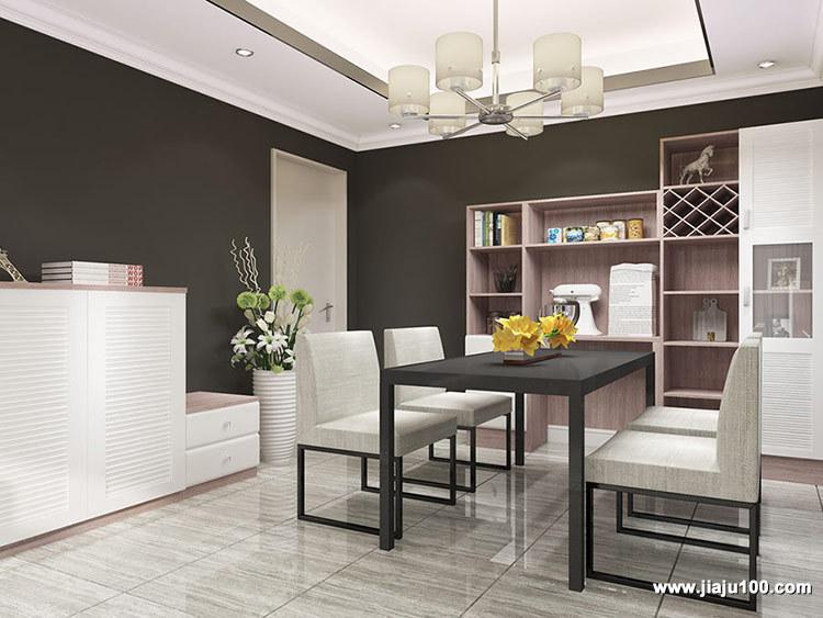 餐厅实木餐桌椅家具定制