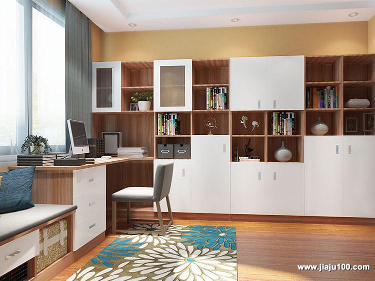书房家具书柜组合