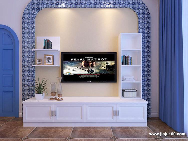地中海风电视柜