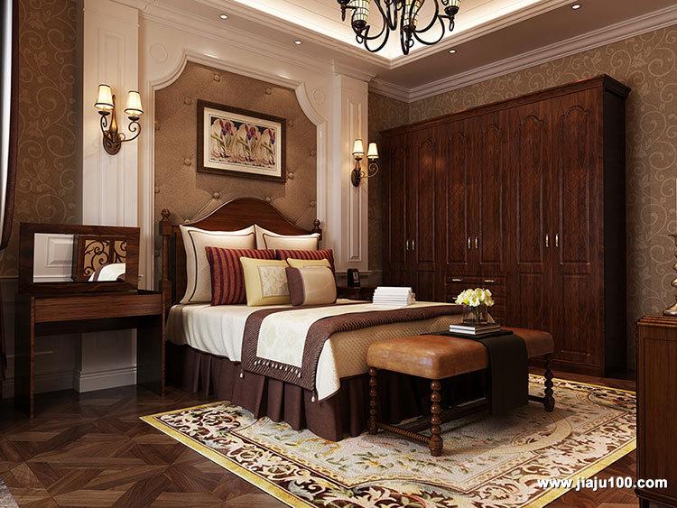 美式卧房家具定制