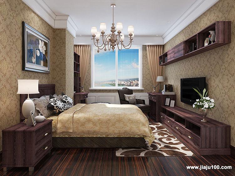 卧室家具衣柜电视柜价格