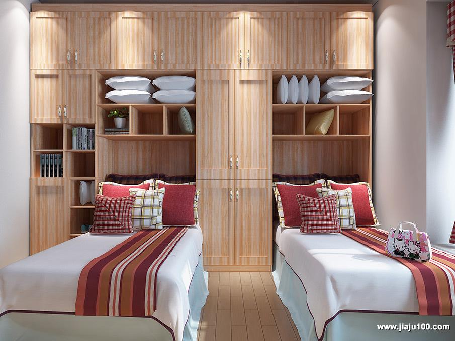 卧室儿童双人床家具