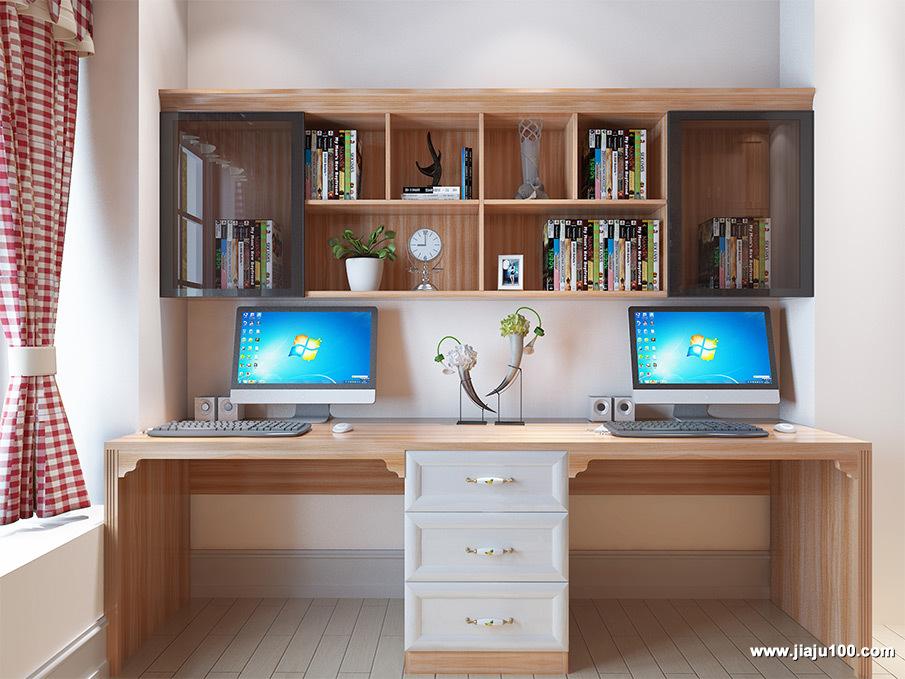电脑桌双桌定制