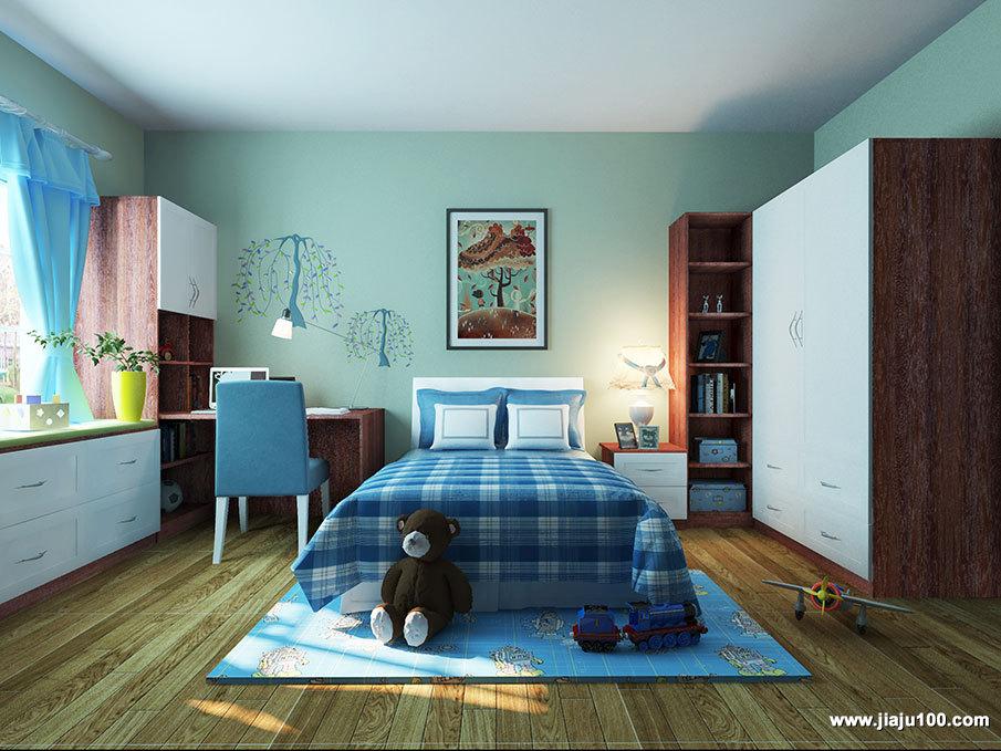 儿童房成品家具定制