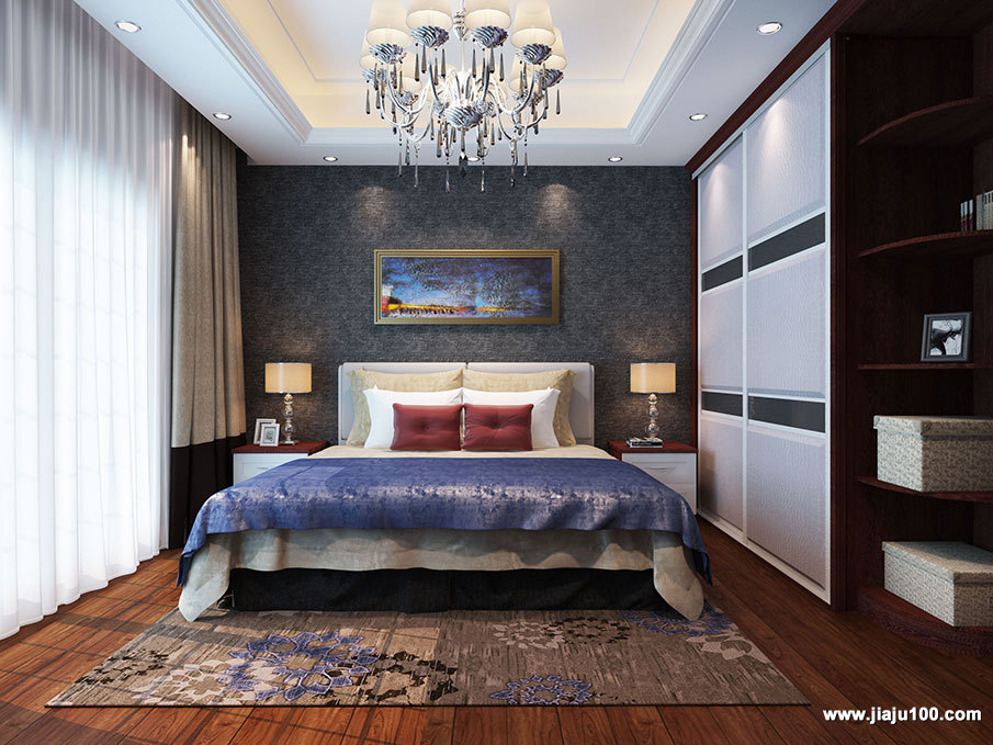 卧室整体衣柜定制