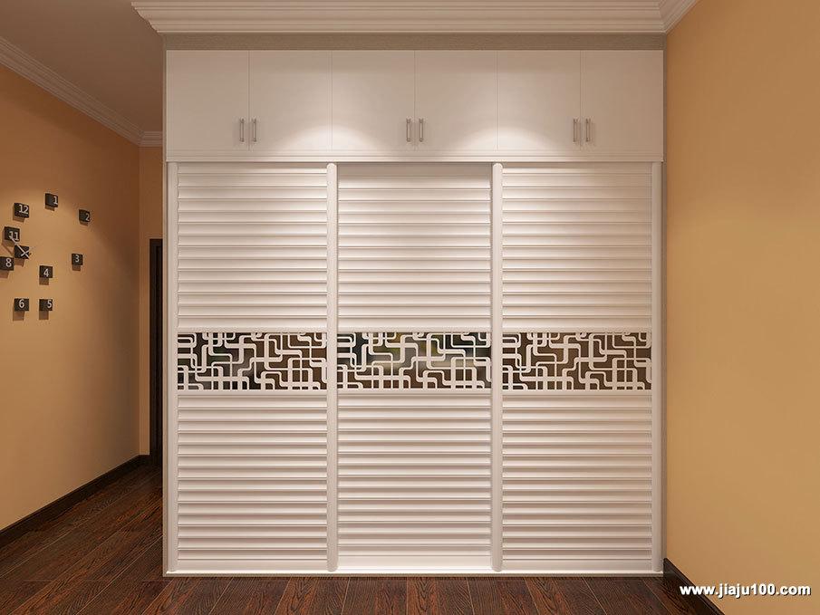 腰花衣柜门设计