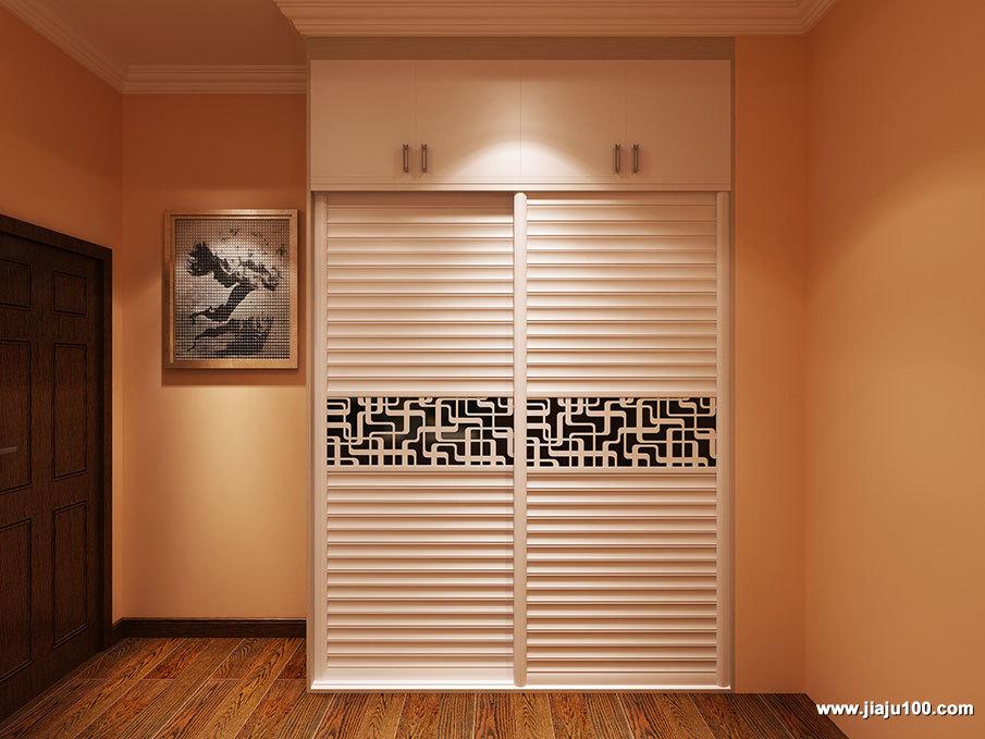分层衣柜效果图