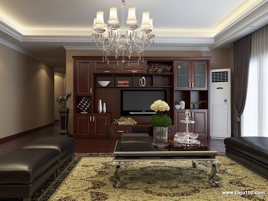 美式客厅个性定制