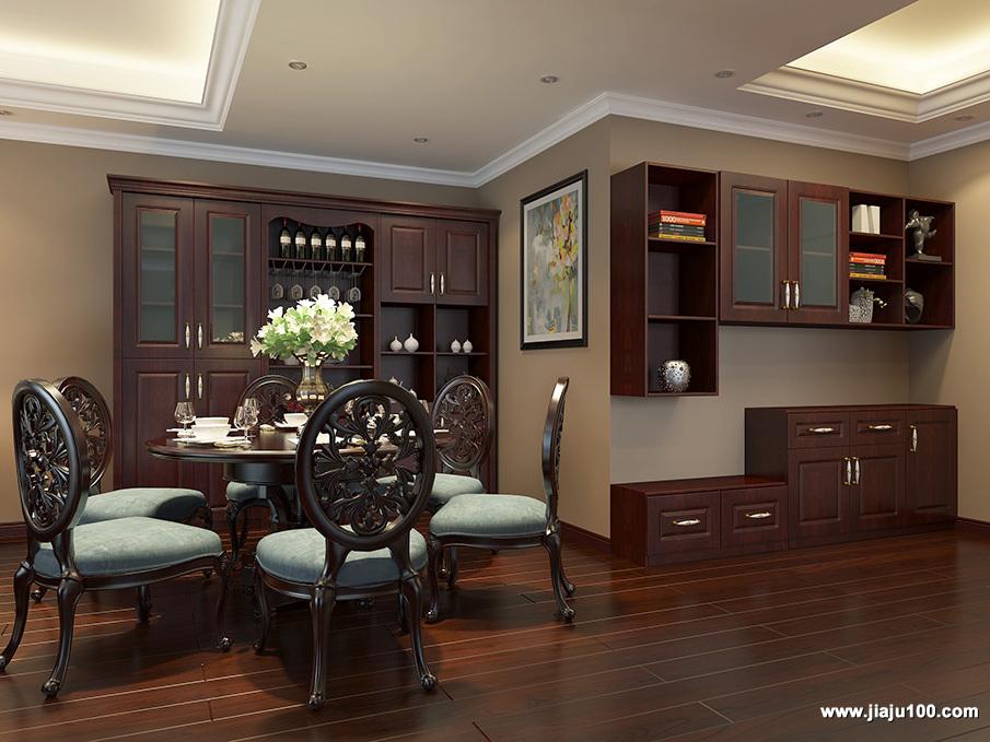 宫廷式饭厅设计