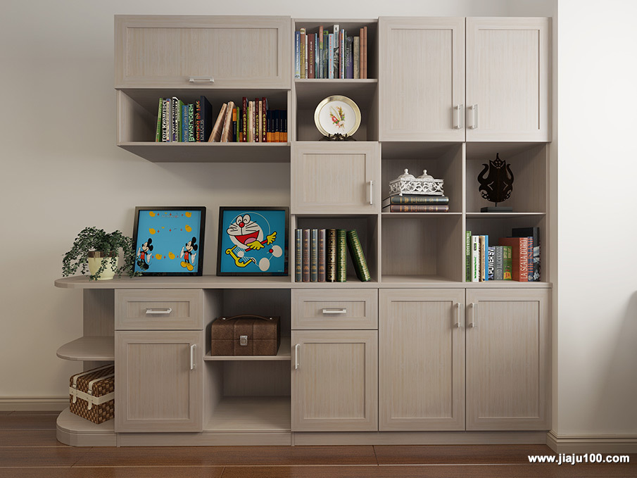 儿童房装饰书柜