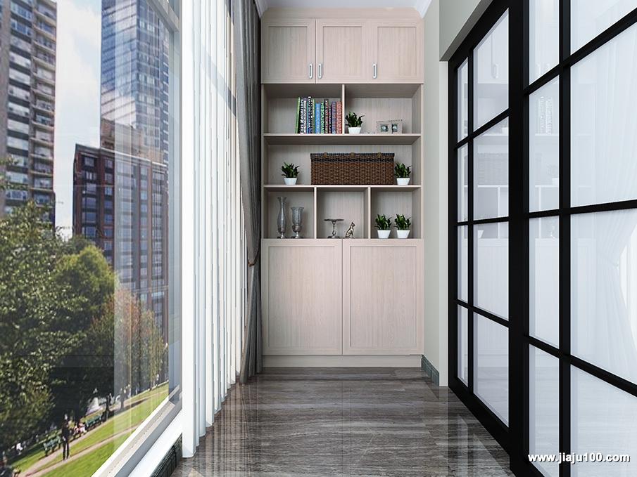 阳台装饰柜设计效果图