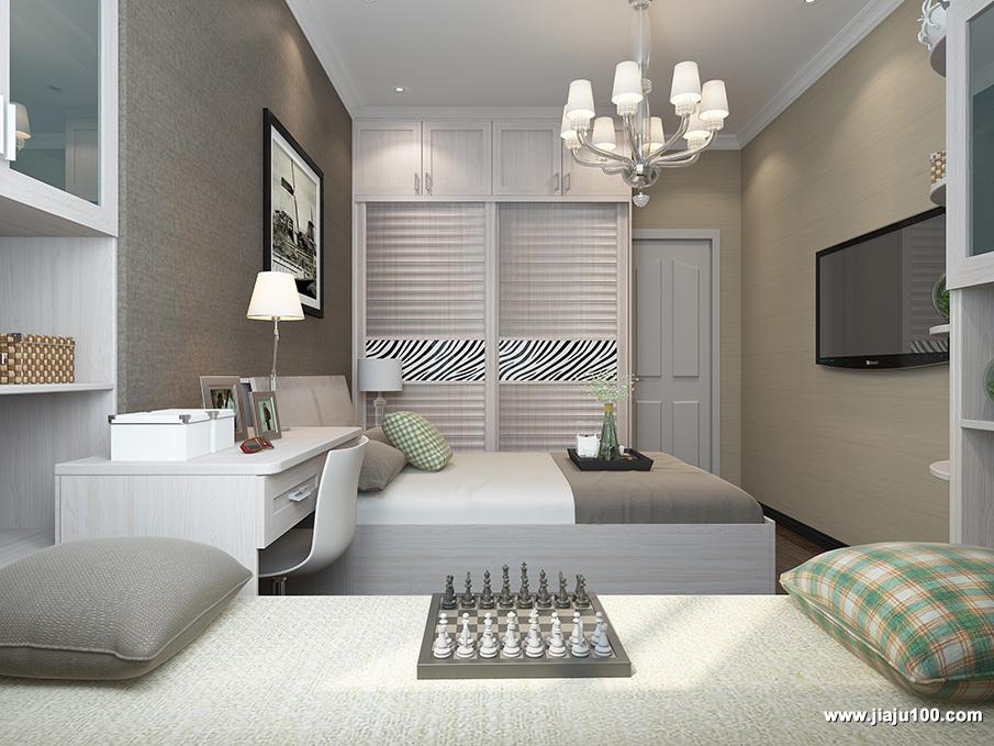 卧室家装设计效果图