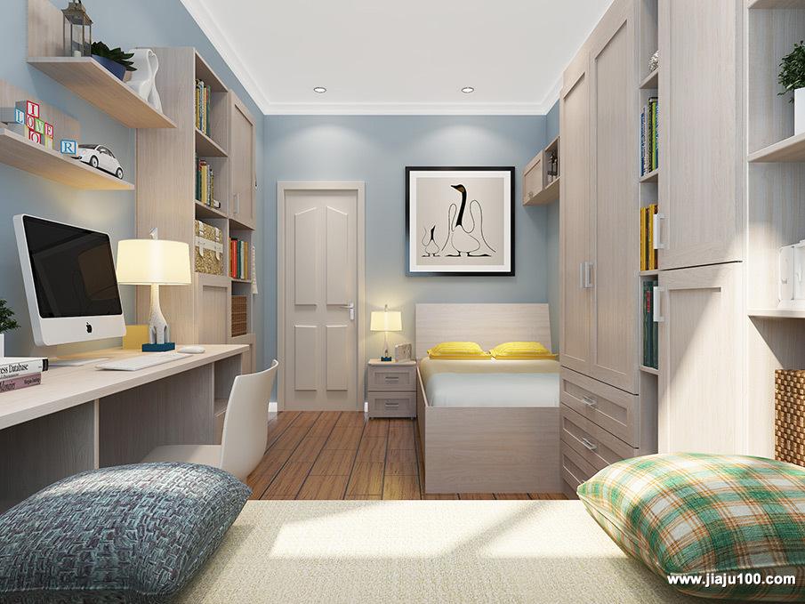 现代简约儿童房家装设计