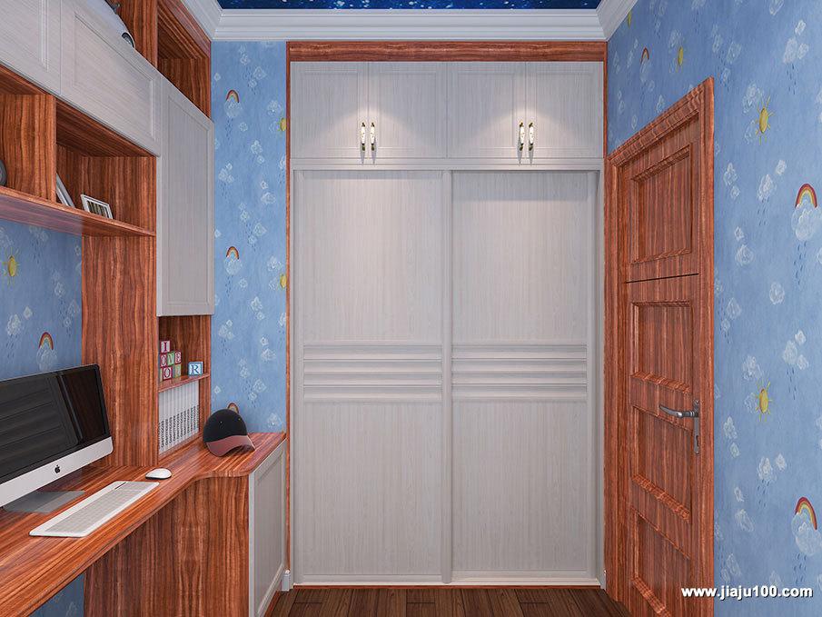 入墙式衣柜设计