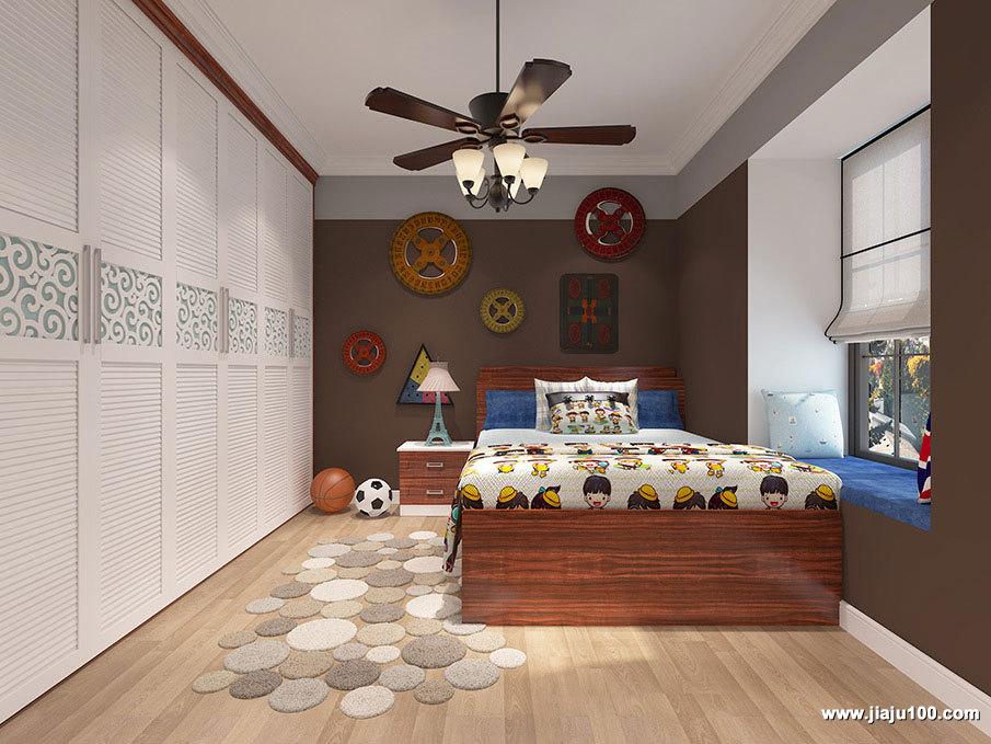儿童床床头柜设计
