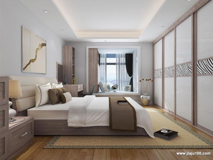 卧室整体家具设计效果图