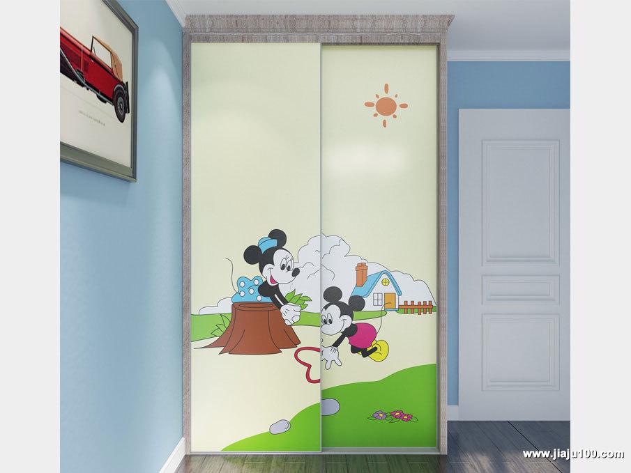 卡通柜门衣柜定制