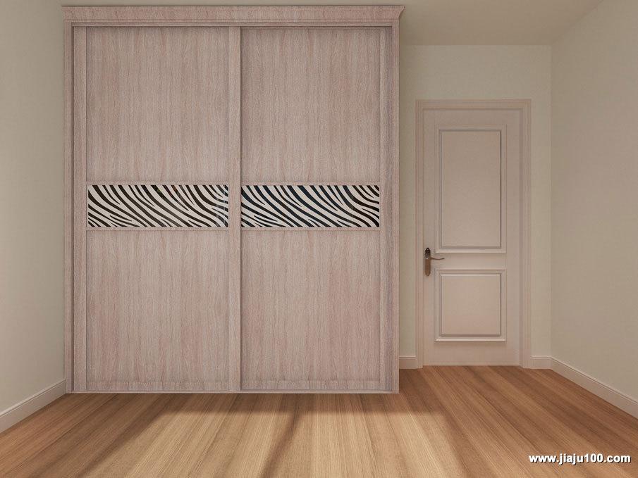 木纹衣柜定制