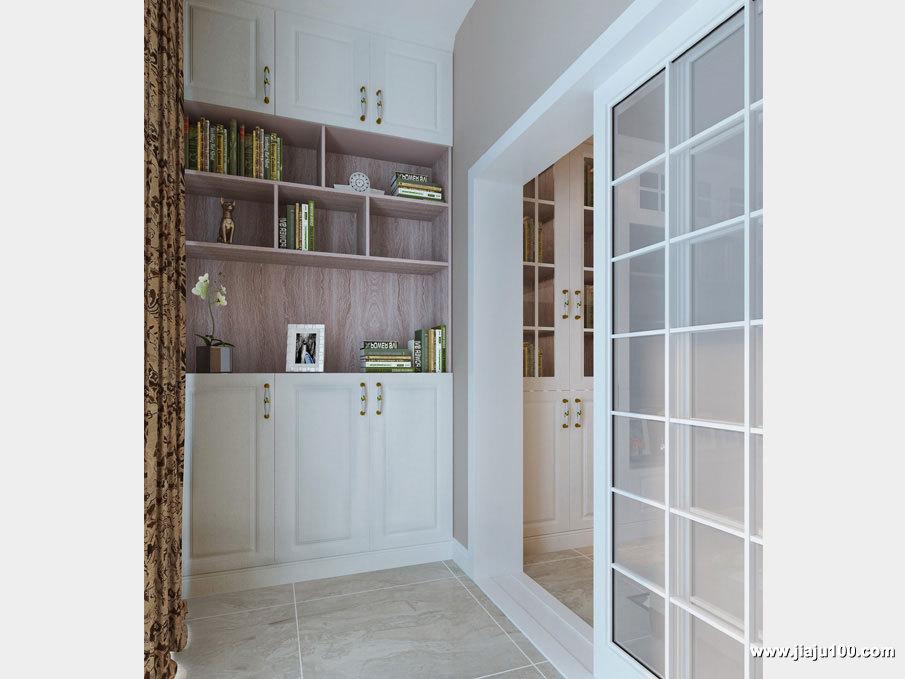 阳台装饰柜设计