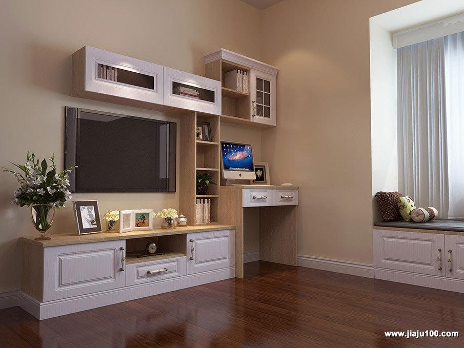 电视柜电脑桌组合柜设计