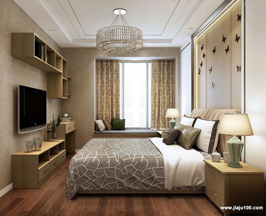 现代简约风格卧室家具定制