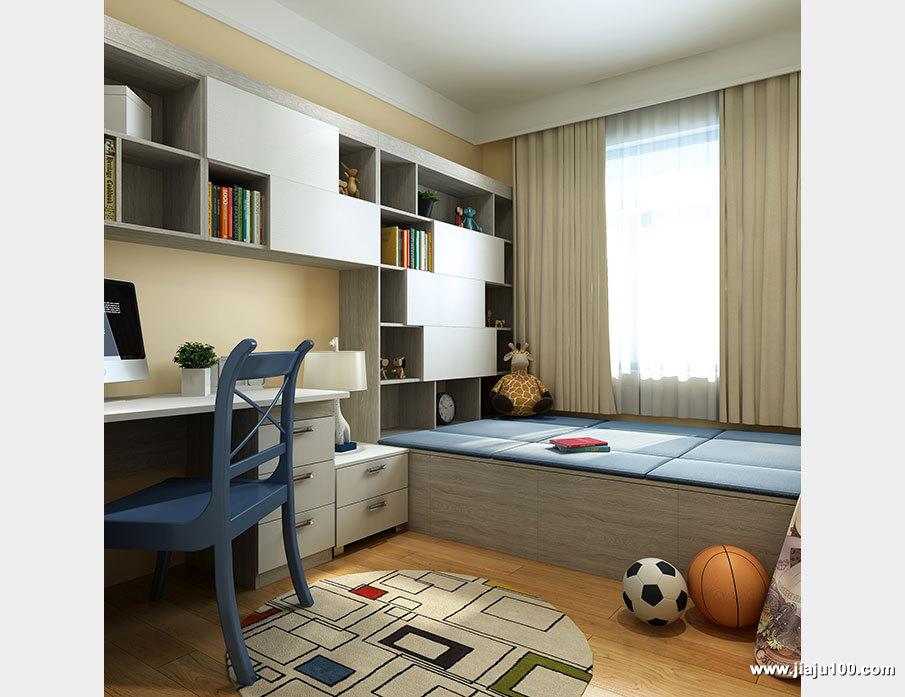 榻榻米床书桌家具定制