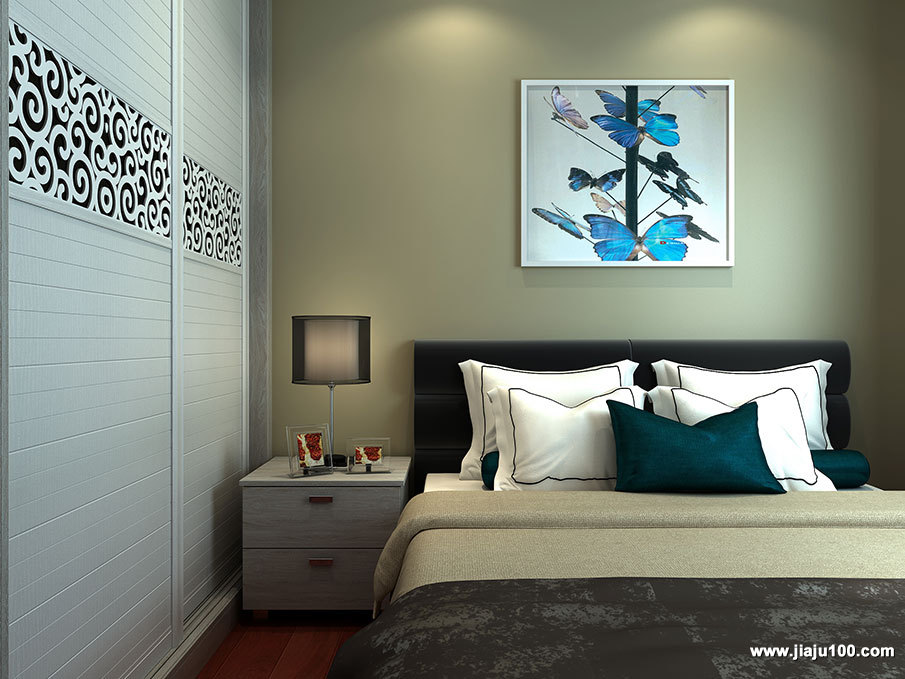 简易现代床头柜设计