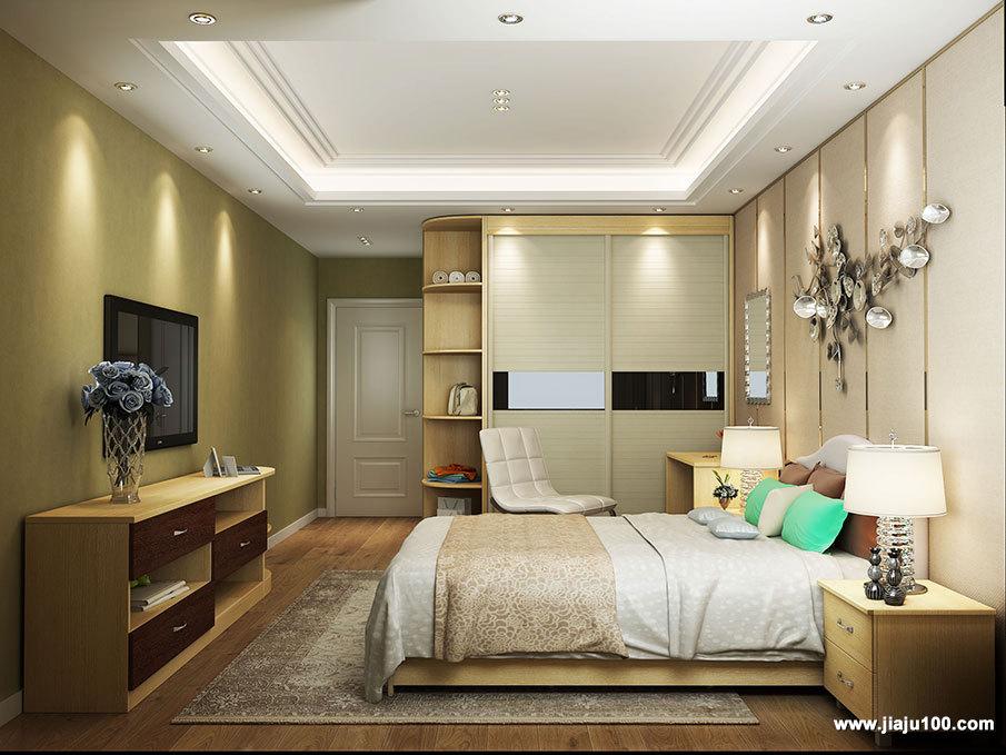 时尚现代风格卧房家具定制