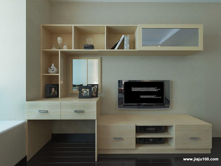 书桌电视柜组合柜定制