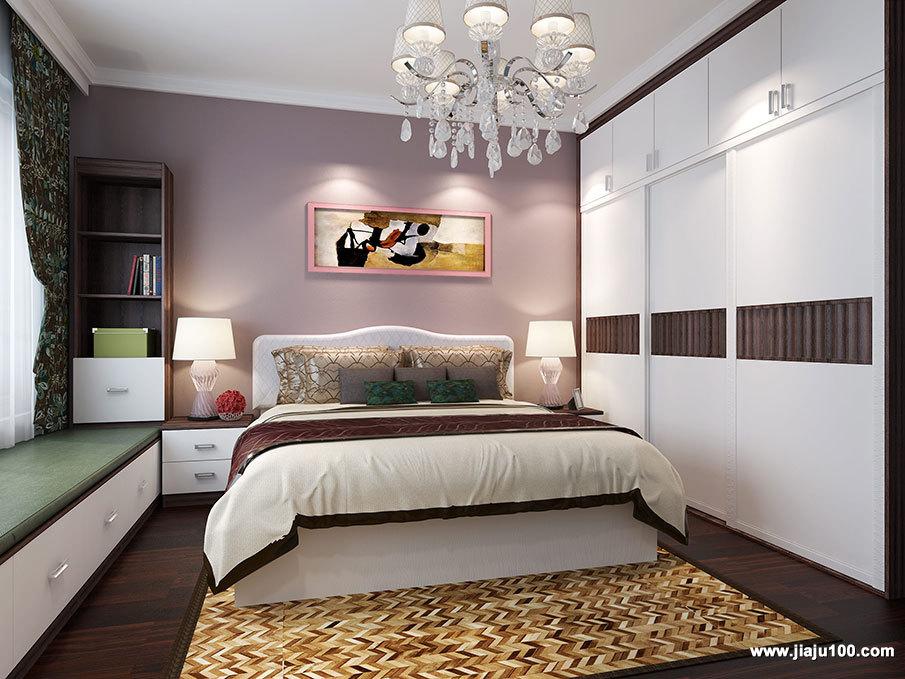 现代时尚风格床头柜定制