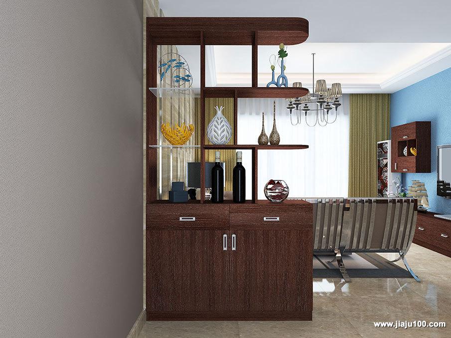 客厅玄关装饰柜定制