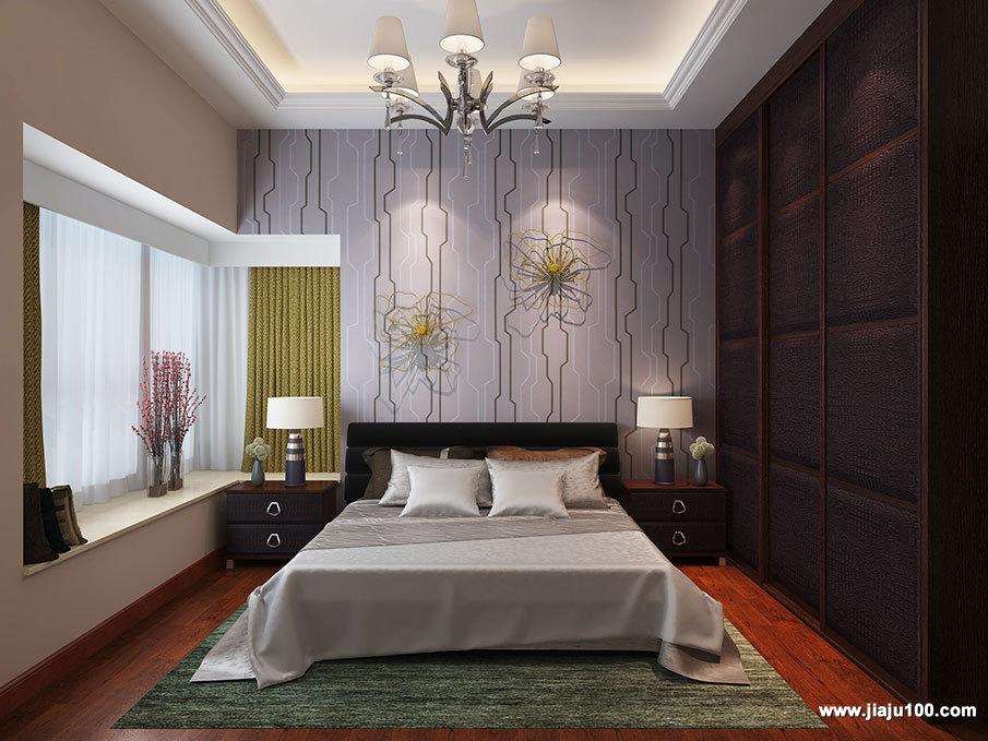 现代时尚卧室家具效果图
