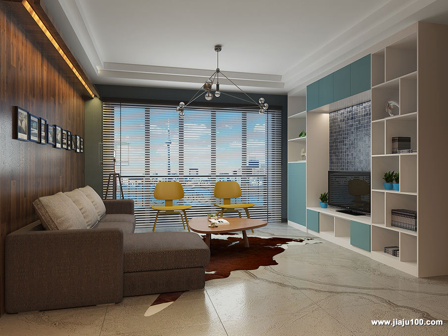 现代都市客厅家具设计