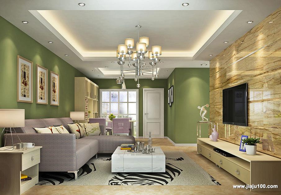 多元素客厅家具设计