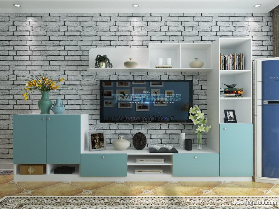 地中海风格电视柜定制
