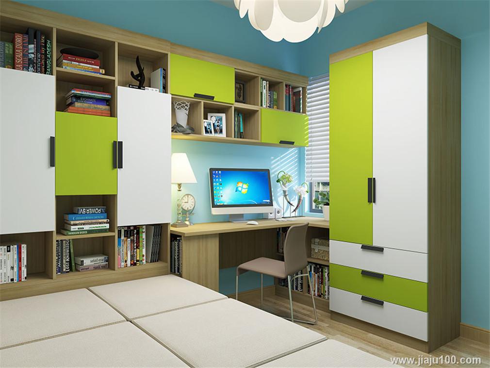 衣柜+書桌柜