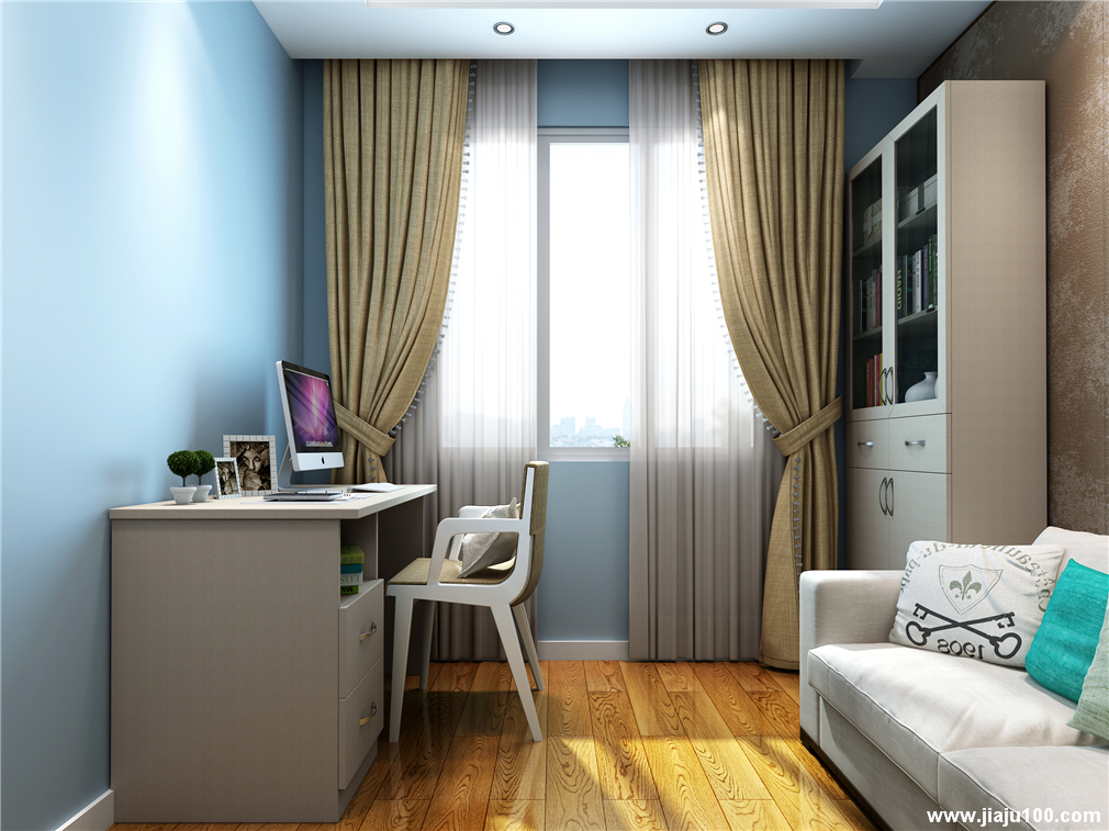 书桌+沙发