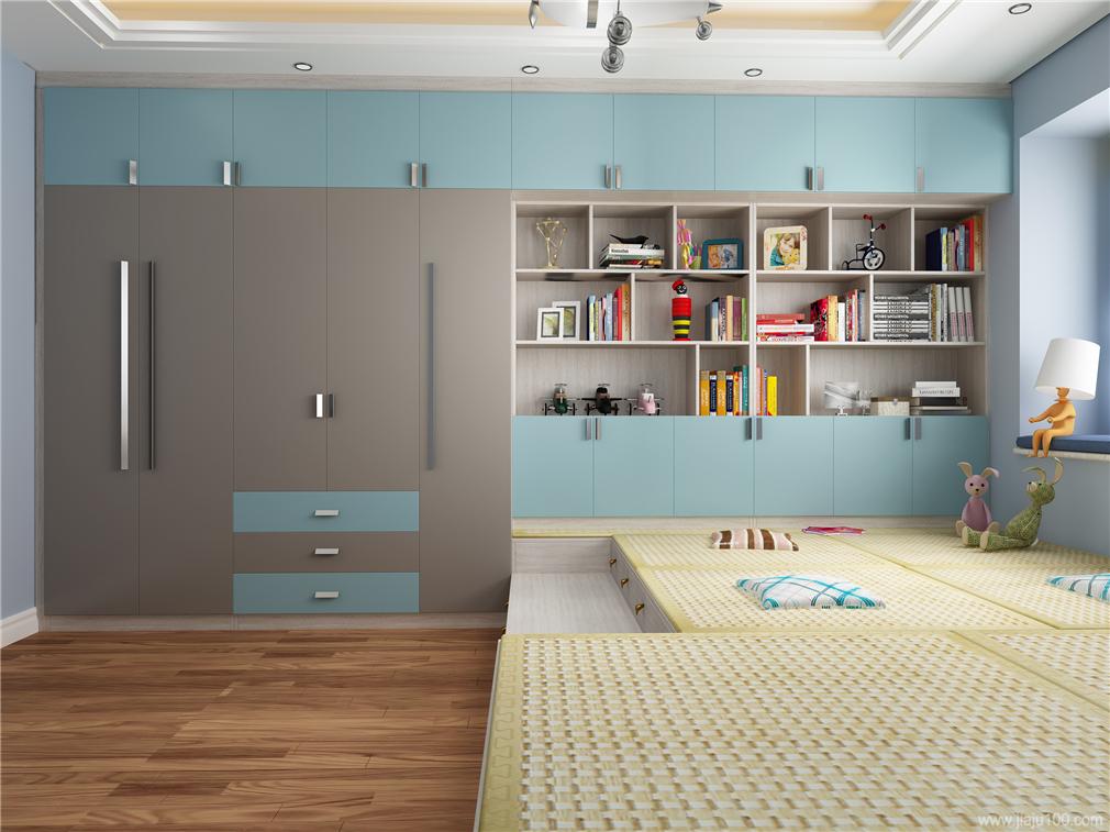 衣柜+置物柜