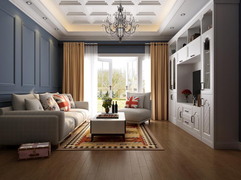 欧式风格客厅家具