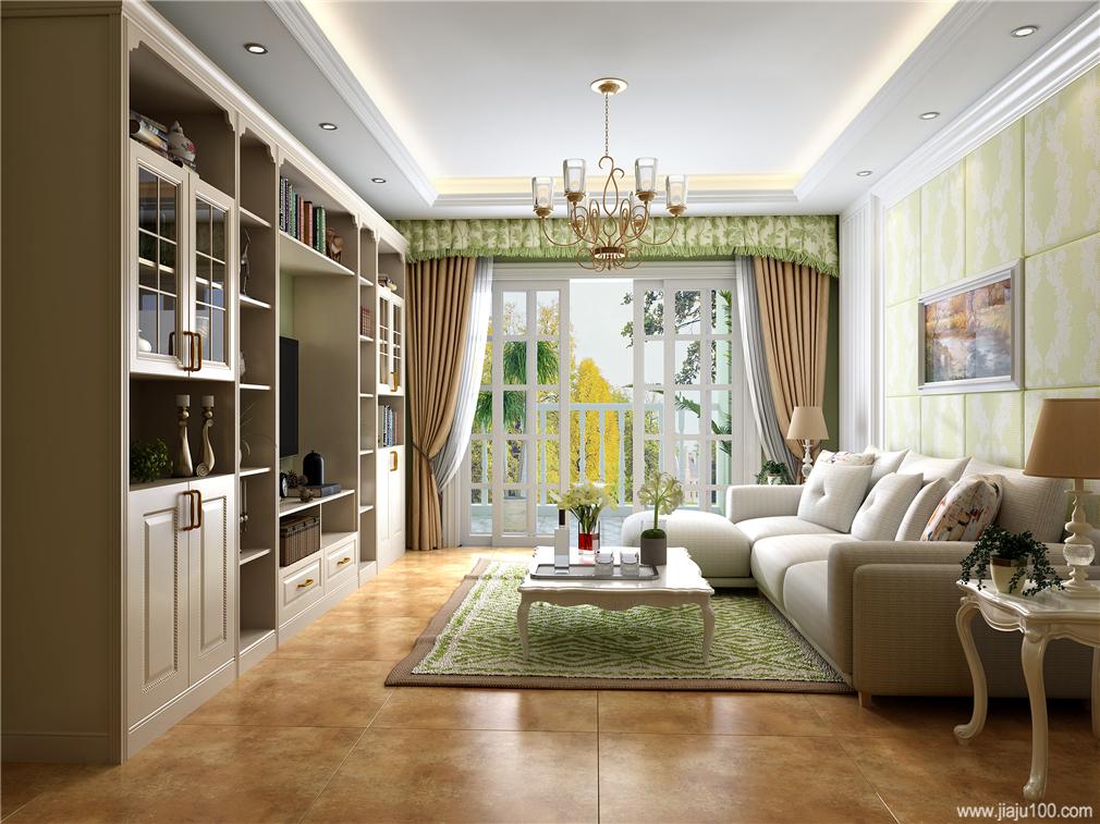 客厅电视柜组合高度