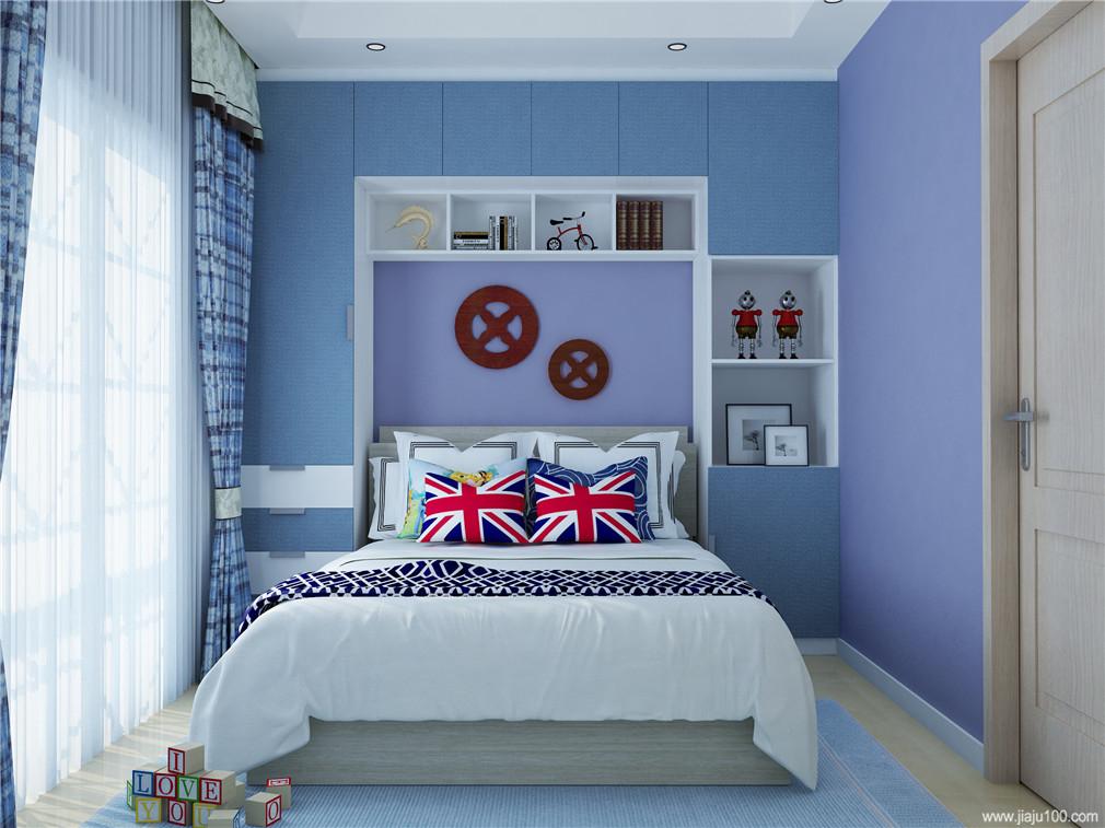 床+储物柜