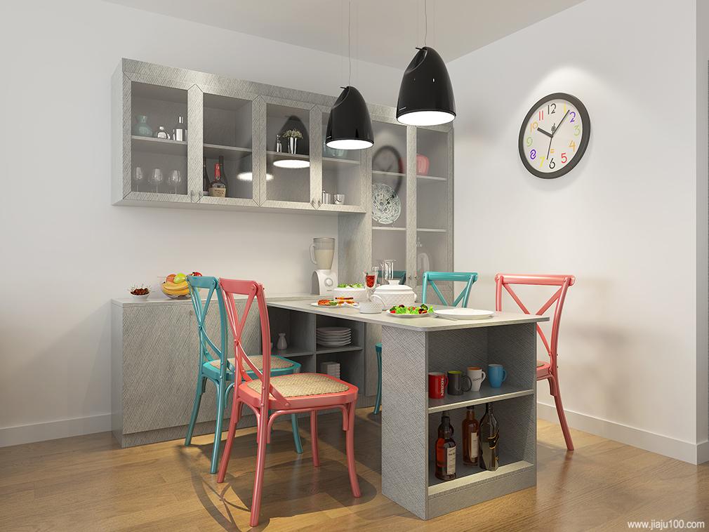 餐桌椅+餐边柜