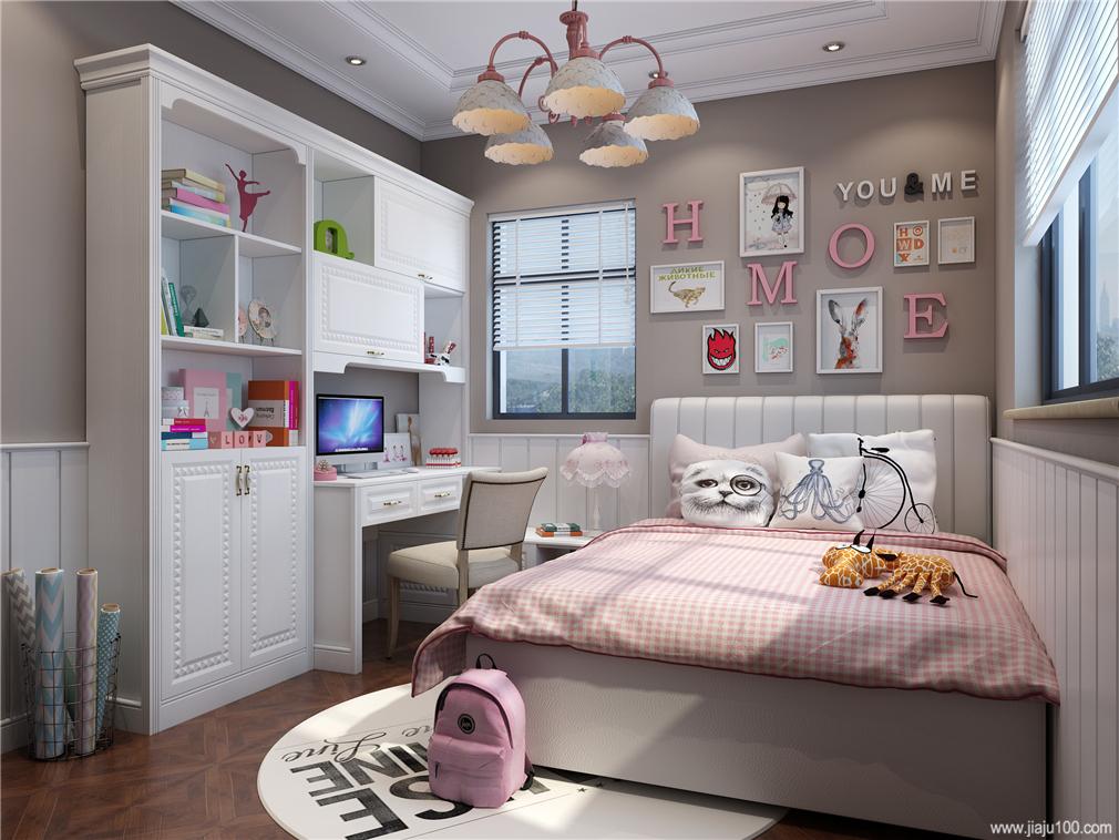床+書桌柜
