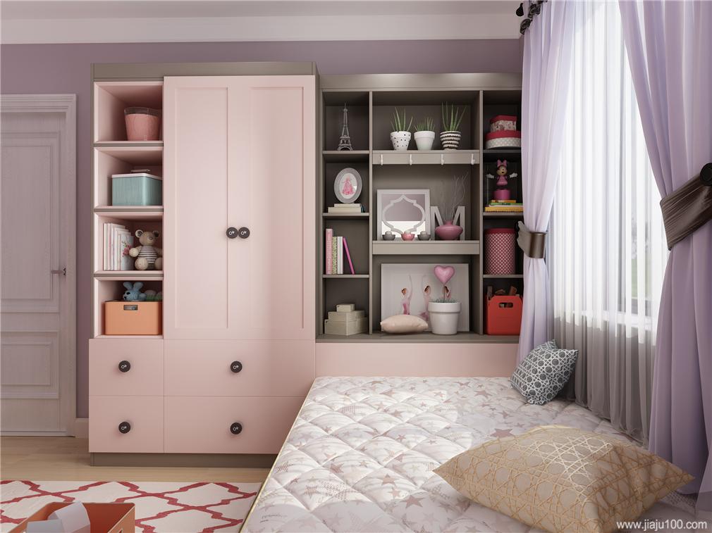 衣柜+装饰柜