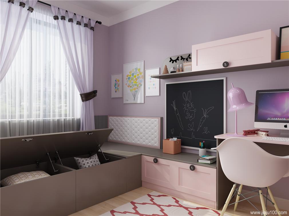 书桌+书柜